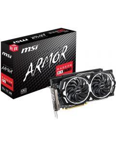 MSI Radeon RX 590 ARMOR OC - Slight Damage to Box , 8Gb DDR5 (8000MHz - 256bit), GPU Cores - 2304, GPU Clock - 1565MHz Boost, 2xD.Port/2xHDMI/DL-DVI-D - 912-V341-400
