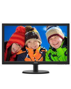 """Philips 21.5"""" FullHD - 1920x1080, 60Hz, Widescreen, LED, HDMI/VGA, 5mS, 10M:1 - 223V5LHSB2/00"""