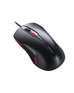 CHERRY MC 4000 Optical Mouse, 6 Buttons,  Ambidextrous, Red/blue illumination, Selectable DPI, USB - JM-4000