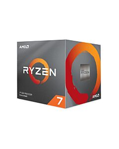 AMD Ryzen™ 7 3800X, AM4, Zen 2, 8 Core, 16 Thread, 3.9GHz/4.5GHz Turbo, Retail Box with Wraith Prism Cooler - 100-100000025BOX