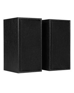 CiT Black Speaker 2.0 , USB Powered + 3.5 mm Jack , 3W x 2 (RMS) - 5055492408815