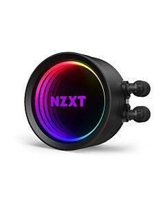 NZXT Kraken X73, 360mm All-In-One Hydro CPU Cooler with RGB Lighting, 3 x 120mm PWM Fans, CAM Control, Intel/AMD/AM4 - RL-KRX73-01