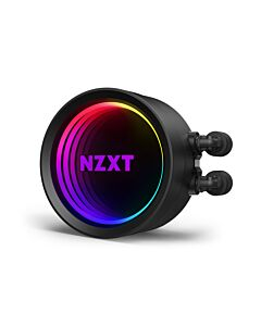NZXT Kraken X53, 240mm All-In-One Hydro CPU Cooler with RGB Lighting, 2 x 120mm PWM Fans, CAM Control, Intel/AMD/AM4 - RL-KRX53-01
