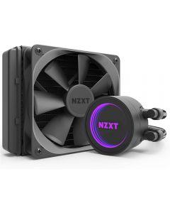 NZXT Kraken M22, All-In-One RGB CPU Hydro Cooler 120mm Radiator CAM Control, 120mm PWM Fan, for Intel/AMD/AM4 - RL-KRM22-01