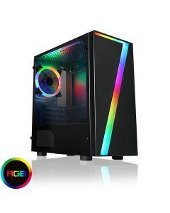 CIT Master RGB, Refurbished Gaming PC, Intel Core i5 2400, Quad Core, 3.4GHz, 8GB, 240GB SSD, GT 1030, W10 *Upgradeable*