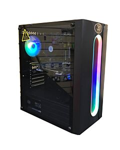 CIT Sauron RGB, Refurbished Gaming PC, Intel Core i5 3470, Quad Core, 3.6GHz, 8GB, 240GB SSD, GT 1030, W10 *Upgradeable*