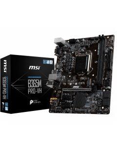 MSI B365M Pro-VH, s1151, 2xDDR4, 6xSATA3, 1x M.2, 6xUSB 3.1/2.0, Gbit Lan, VGA/HDMI micro ATX