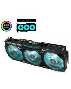 KFA2 Nvidia GeForce RTX 3090 SG (Serious Gaming), PCIe, 24GB GDDR6X(192-bit), Triple fan, GPU Cores - 10496, GPU Clock - 1695MHz(Boost)  - 39NSM5MD1GNK