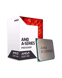 AMD A10 9700, sAM4, APU, Quad Core, 4 Thread, 3.5GHz/3.8GHz Turbo, 2MB Cache, 1029MHz Radeon R7 Graphics with 6 GPU Cores, 65W, oem with Cooler - AD9700AGGM44AB