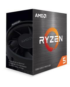 AMD Ryzen™ 5 5600X, AM4, Zen 3, 6 Core/12 Thread, 3.7GHz/4.6GHz(Turbo), 35MB Cache, PCIe 4.0, 65W, Retail Box with Cooler - 100-100000065BOX