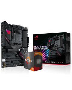 AMD Ryzen 7 5800X 8 Core 4.7GHz*, ASUS ROG STRIX B550-F GAMING Motherboard CPU + CM Hyper 212 Blk Ed. Cooler Bundle - BIOS Updated