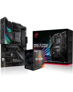 AMD Ryzen 5 5600X SIX Core 4.6GHz*, ASUS ROG STRIX X570-F GAMING Motherboard CPU Bundle - BIOS Updated