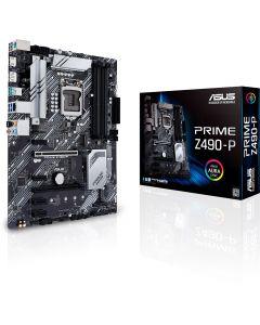 ASUS PRIME Z490-P, s1200, 4xDDR4, 6xSATA3, Dual M.2, Gbit Lan, USB 3.2 Gen2 A, Full ATX - 90MB12V0-M0EAY0