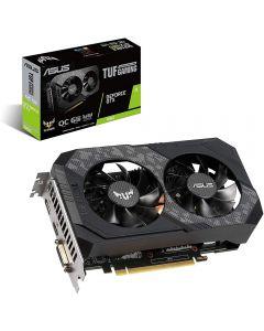 ASUS TUF Gaming NVIDIA GeForce GTX 1660 SUPER, 6GB GDDR6(14000MHz - 192bit), GPU Clock - 1530MHz/1815MHz(Boost) - TUF-GTX1660S-O6G-GAMING