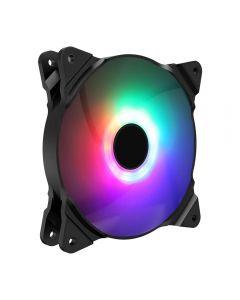 GameMax Haze 120mm Fan 3pin M/F ARGB 3/4pin Power Retail Box - GMXHAZE