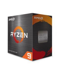 AMD Ryzen 9 5950X, AM4, Zen 3, 16 Core/32 Thread, 3.4GHz/4.9GHz(in Turbo), 72MB Cache, PCIe 4.0, 105W, Retail Box NO Cooler - 100-100000059WOF