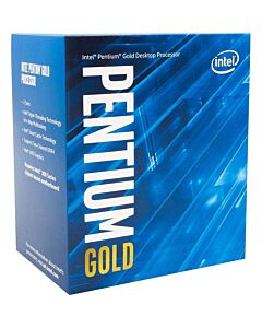 Intel Pentium G6400, s1200, Comet Lake, 2 Cores/4 Threads, 4.0GHz, 4MB Cache, 58W, Retail Box with Cooler - BX80701G6400