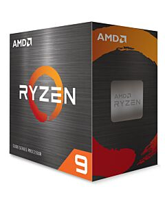 AMD Ryzen 9 5900X, AM4, Zen 3, 12 Core/24 Thread, 3.7GHz/4.8GHz(in Turbo), 70MB Cache, PCIe 4.0, 105W, Retail Box NO Cooler - 100-100000061WOF