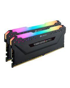 32GB (2x16GB) Corsair DDR4 Vengeance RGB PRO Black, PC4-25600 (3200), Non-ECC Unbuff, CAS 16, Ryzen Optimised, RGB LED, 1.35V - CMW32GX4M2Z3200C16
