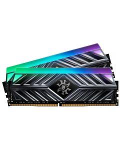 ADATA XPG SPECTRIX D41 RGB LED, 16GB (2X 8GB) DDR4 3200MHZ DDR4 PC25600, CL16-20-20, 1.35V, 288pin - AX4U300038G16A-DT41
