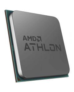 AMD Athlon 3000G, AM4, Zen, Dual Core, 4 Thread, 3.5GHz, 4MB Cache, Radeon Vega 3 Graphics, 35W, oem CPU with cooler