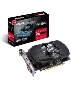 ASUS Phoenix RX 550 4GB GDDR5(6000MHz - 128bit), PCIe 3.0, 14nm Polaris, Cores - 512, Clock - 1183MHz - PH-RX550-4G-EVO