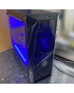 CyberPower Gaming PC, AMD Ryzen 3 2300X Quad Core 4GHz*, 6GB GTX 1060, Windows 10 Home - CYB011911