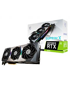 MSI NVIDIA GeForce RTX 3070 SUPRIM X with Ray Tracing, 8GB GDDR6, GPU Cores - 5888, GPU Clock - 1500MHz/1770MHz Boost - RTX 3070 SUPRIM X 8G