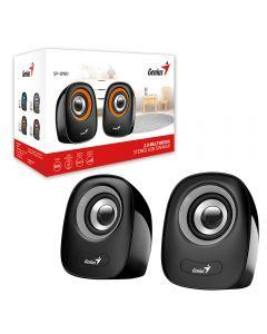 Genius SP-Q160 Iron Grey Stereo 2.0 Speakers, USB Powered , 3.5mm Jack, 2 x 3W RMS - 31730027400