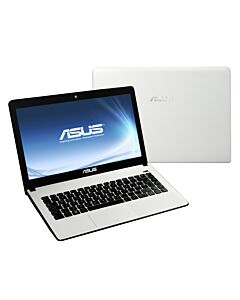 "Asus X401A, White Refurbished Laptop, Intel Pentium B980, Dual Core, 2.4GHz, 4GB, 640GB, 14"", W10H"