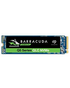 Seagate BarraCuda Q5 500GB PCIe NVME M.2 (2280) SSD, Read 2300MB/s  Write 900MB/s - ZP500CV3A001