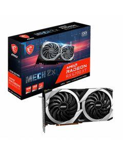MSI RX 6700 XT MECH 2X with Ray Tracing, 12GB GDDR6, RDNA2, 2560 Streams, GPU Clock - 2321MHz/2620MHz(Boost) - RX 6700 XT MECH 2X 12G OC