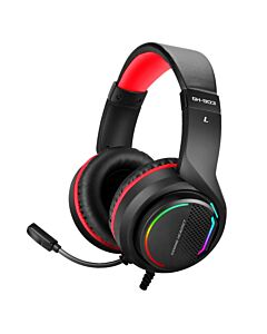Strike-Me GH-903 Gaming Headphone 7.1 Surround RGB, PC, PS4, Xbox One, cable 2m, USB