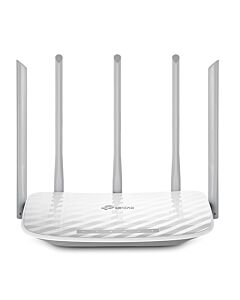 TP-LINK Archer C60 v3.0 AC1350 (867Mbps+450Mbps) Wireless Dual Band 10/100 Cable Router, 5 Antennas Access Point Mode