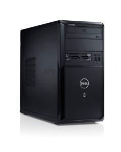Dell Vostro 270 Desktop ATX Refurbished PC, Intel Core i5 3470, Quad Core, 3.6GHz*, 8GB, 500GB, DVDRW, W10P