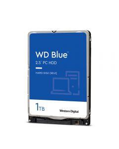 """1TB WD Blue WD10SPZX, 2.5"""" HDD, SATA III 6Gb/s, 5400rpm, 128MB Cache, 7mm, OEM"""