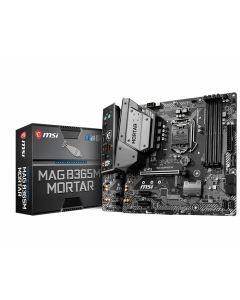 MSI MAG B365M MORTAR, s1151, 4xDDR4, 6xSATA3, 1x M.2, 6xUSB 3.1/2.0 + 1xTypeC, Gbit Lan, HDMI Only, micro ATX