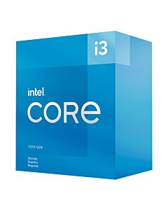 Intel Core I3-10105F CPU, 1200, 3.7 GHz (4.4 Turbo), Quad Core, 65W, 14nm, 6MB Cache, Comet Lake Refresh, No Graphics | BX8070110105F