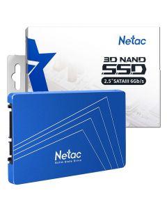 "240GB Netac 2.5"" SATA III SSD, Read 540MB/s Max, Write 490MB/s Max, 7mm, 3D SLC NAND| NT01N535S-240G-S3X"