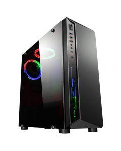 CIT Blitz, RGB Midi ATX, As New Refurbished Gaming PC, Intel Core i3 3240, Dual Core (HT), 3.4GHz, 8GB, 240GB SSD, 500GB, no ODD, W10H, GTX1050Ti