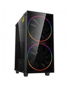 Intel Core i7 4790, Quad Core (HT), 4GHz*, 16GB, 480GB SSD, 2TB, W10H, 6GB GTX 1660, GameMax Black Hole, As New Refurbished ARGB Gaming PC,